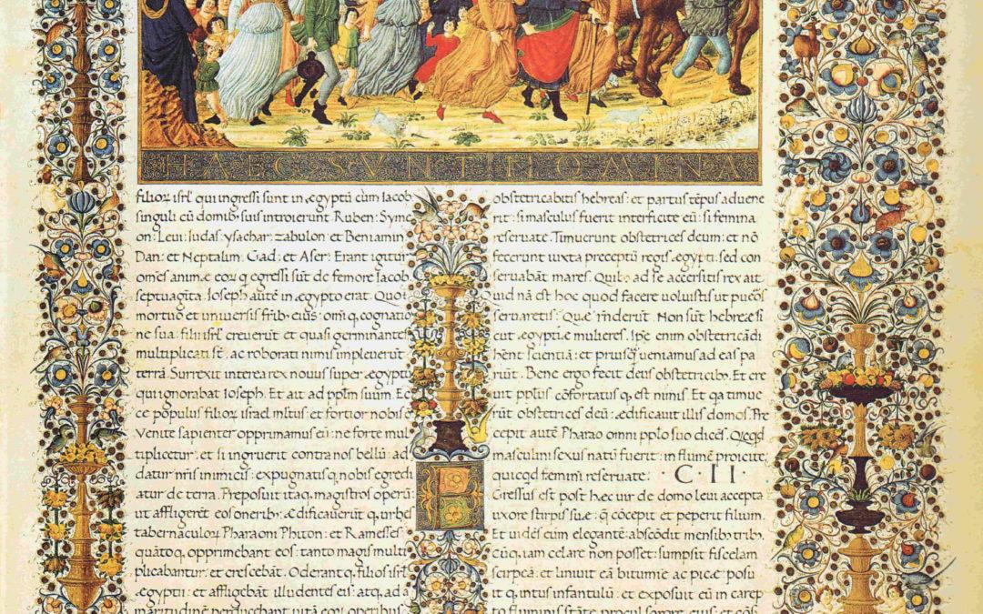 Esposizione della Bibbia di Federico da Montefeltro