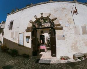 Ingresso Museo Laboratorio della Civiltà Contadina di Matera