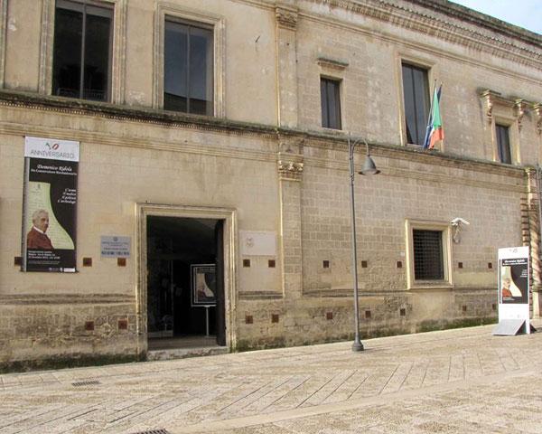 Esterno del Museo Archeologico Nazionale D. Ridola di Matera