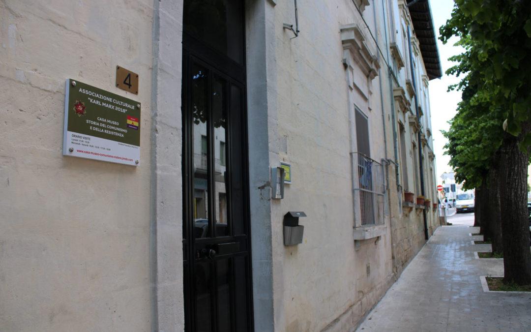 Casa Museo Storia del Comunismo e della Resistenza - Esterno