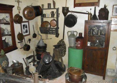 Museo Laboratorio della Civiltà Contadina - Attrezzi del calderaio