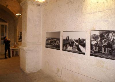 Foto del MUV esposte in occasione di una mostra