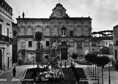 L'ex Ginnasio Duni, oggi Palazzo Lanfranchi