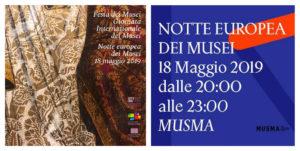 Notte Europea dei Musei 2019 a Matera