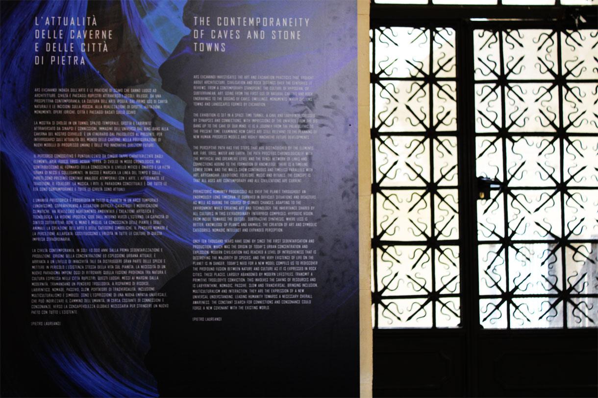 Pannello esplicativo di Ars Excavandi