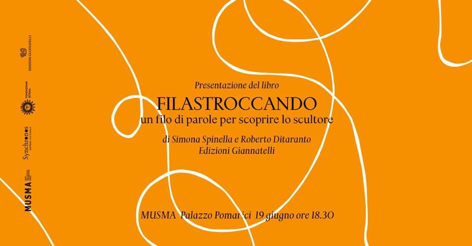 Presentazione libro Filastroccando di Simona Spinella al Musma