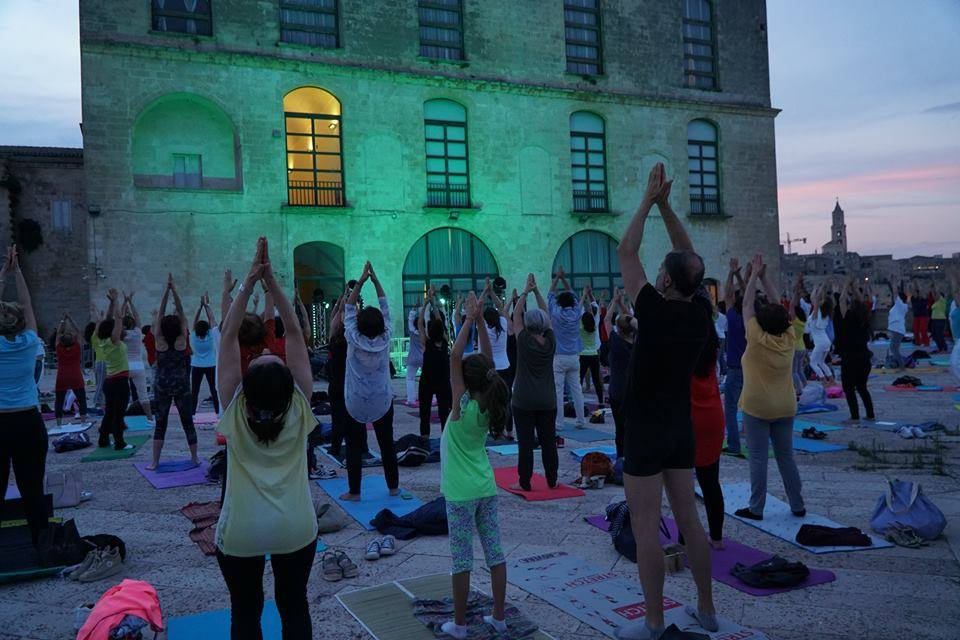 Notte Bianca dello Yoga a Matera