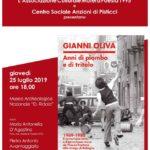 """Presentazione del libro """"Anni di piombo e di tritolo"""" al Museo Ridola"""