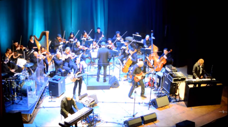 Concerto Grosso per i New Trolls a Palazzo Lanfranchi