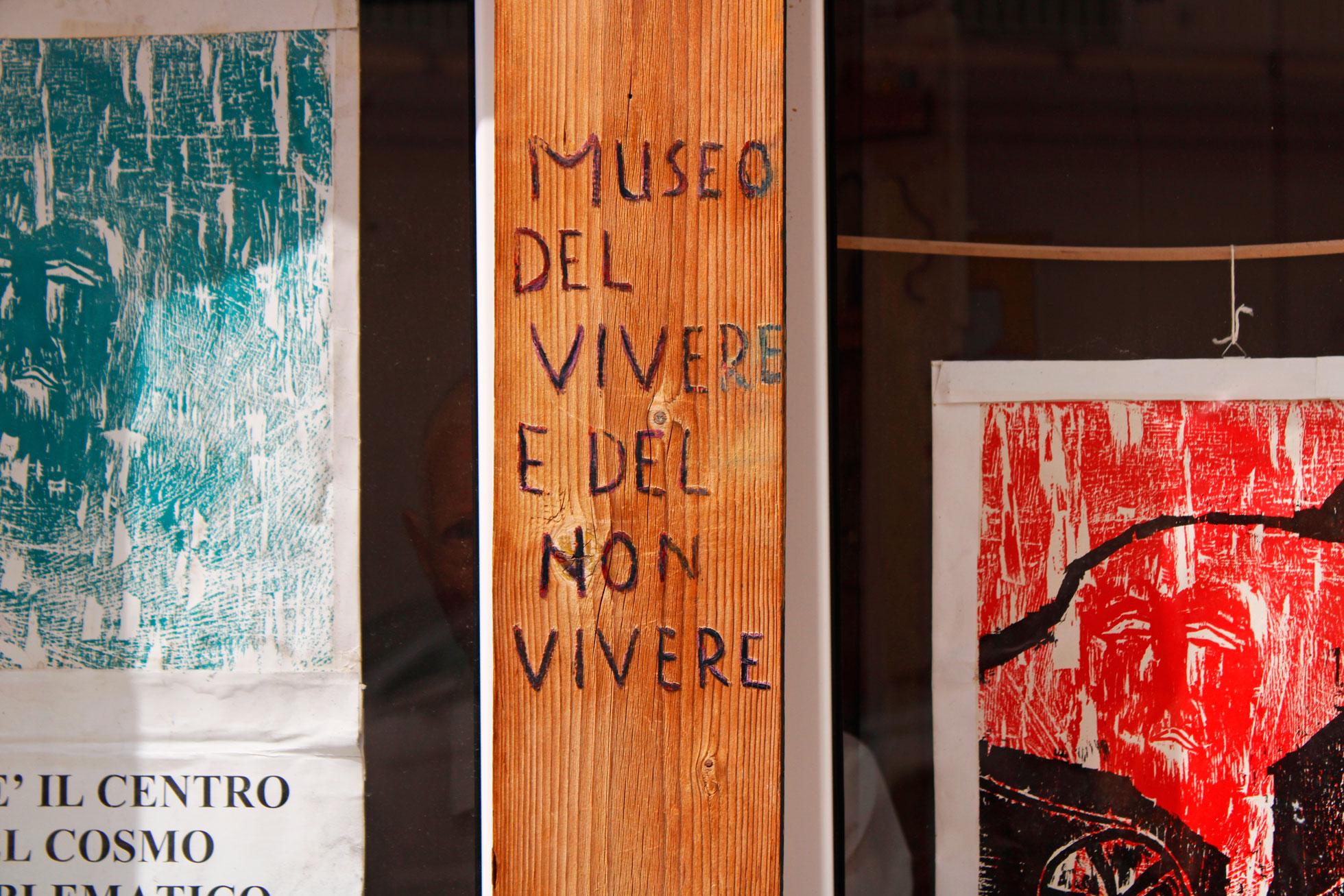 Ingresso Museo d'Arte d'Oggi