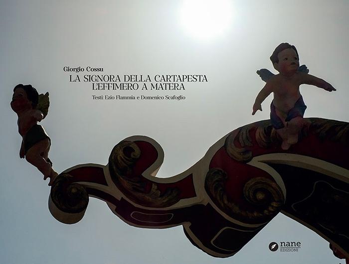 Copertina libro La signora della cartapesta – L'effimero a Matera