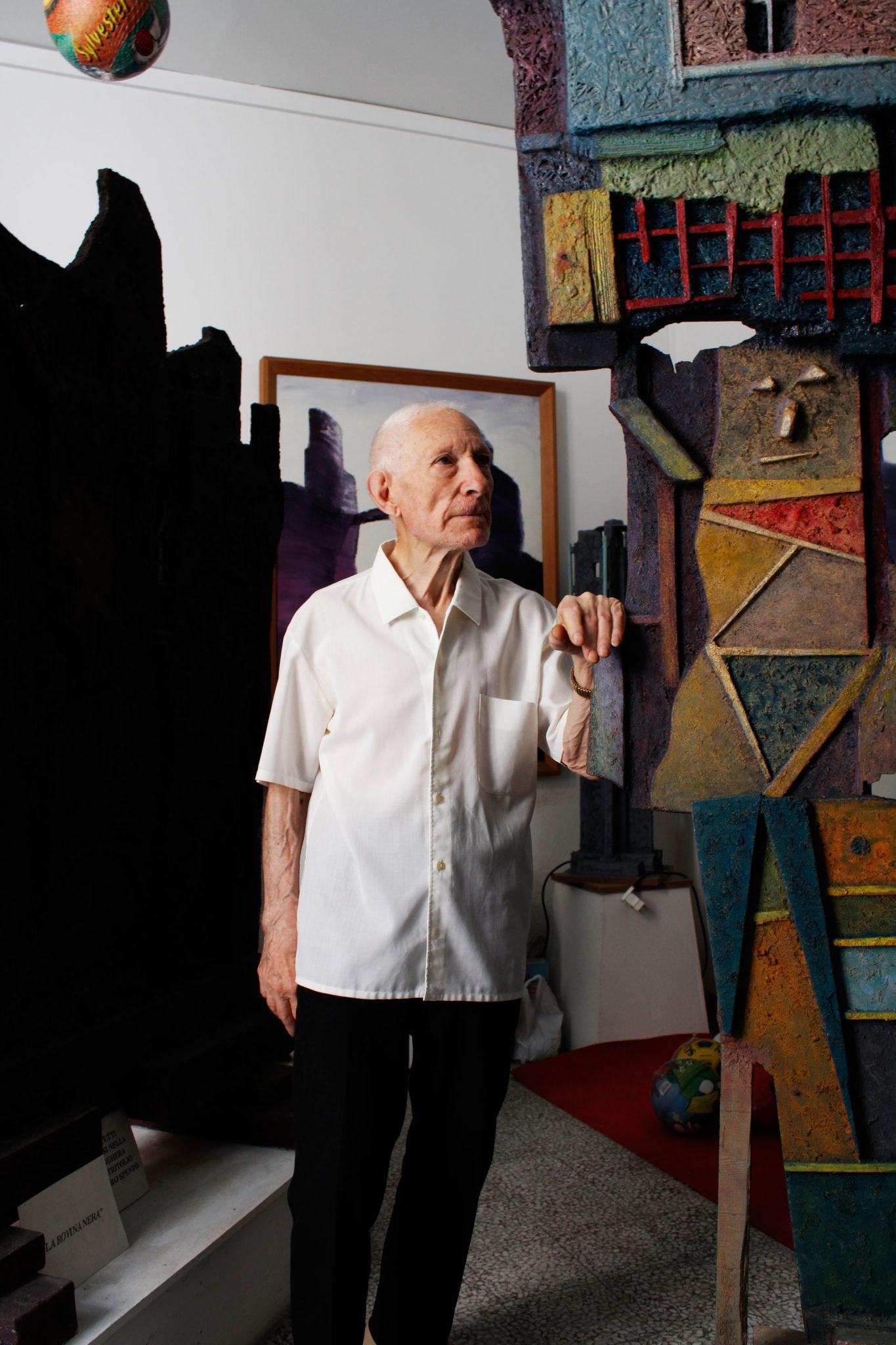 L'artista materano Nunzio Perrucci