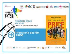 """Prepariamoci al Matera Heroes Pride con """"Pride"""" in Terrazza"""