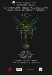 La Dimensione Ancestrale dell'uomo: una conferenza a Palazzo Lanfranchi