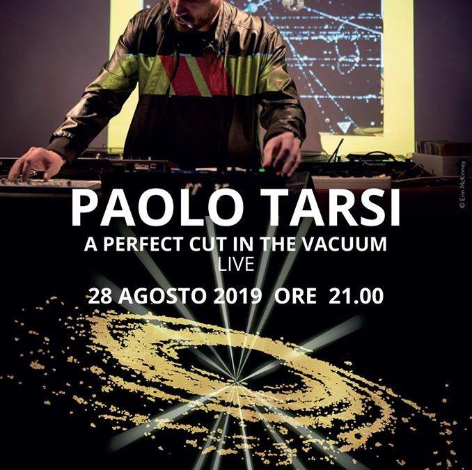 """Paolo Tarsi al MUSMA con """"A Perfect Cut in the Vacuum"""""""