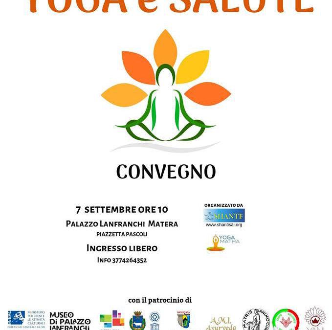Yoga e Salute: un convegno a Palazzo Lanfranchi