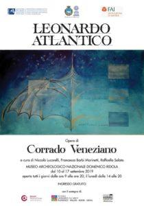 """""""Leonardo Atlantico"""": le opere di Corrado Veneziano a Matera"""