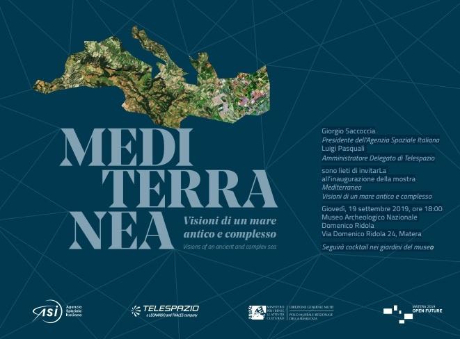 Locandina mostra Mediterranea Museo Ridola