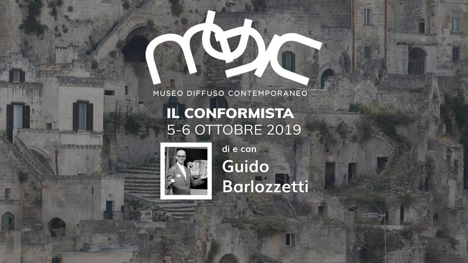 Il Conformista di e con Guido Barlozzetti al MUDIC