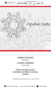 """Presentazione del cd """"Apuliae Suite"""" presso il Museo Ridola"""