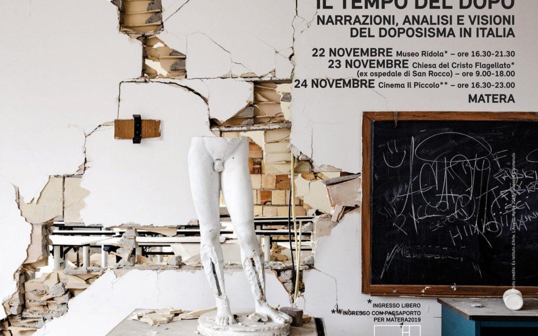 Italia del Dopo - Rassegna a Matera