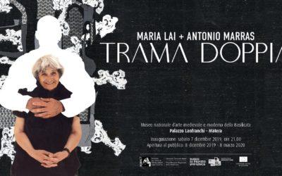 """A Palazzo Lanfranchi la mostra """"Trama doppia. Maria Lai, Antonio Marras"""""""