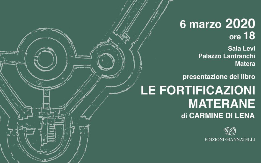"""Presentazione del libro """"Le fortificazioni materane"""" a Palazzo Lanfranchi"""