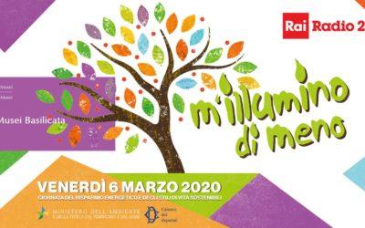M'Illumino di meno 2020: i musei di Matera che aderiscono