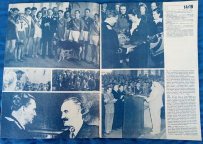 La rivista jugoslava sulla vita del maresciallo Tito esposta presso il Museo del Comunismo di Matera