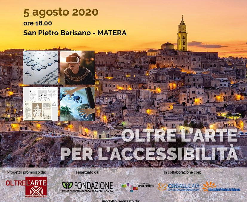 Invito presentazione MuDiMatera - Museo Digitale Matera