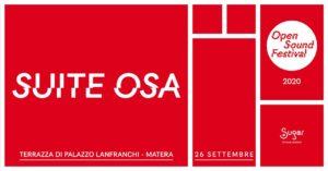 Anteprima della Suite Osa dell'Open Sound Festival 2020 a Palazzo Lanfranchi
