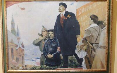 """""""Lenin e la Rivoluzione"""", il nuovo cimelio della Casa Museo del Comunismo e della Resistenza"""