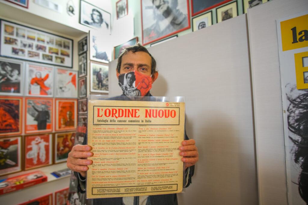 Francesco Calculli, direttore del Museo del Comunismo di Matera