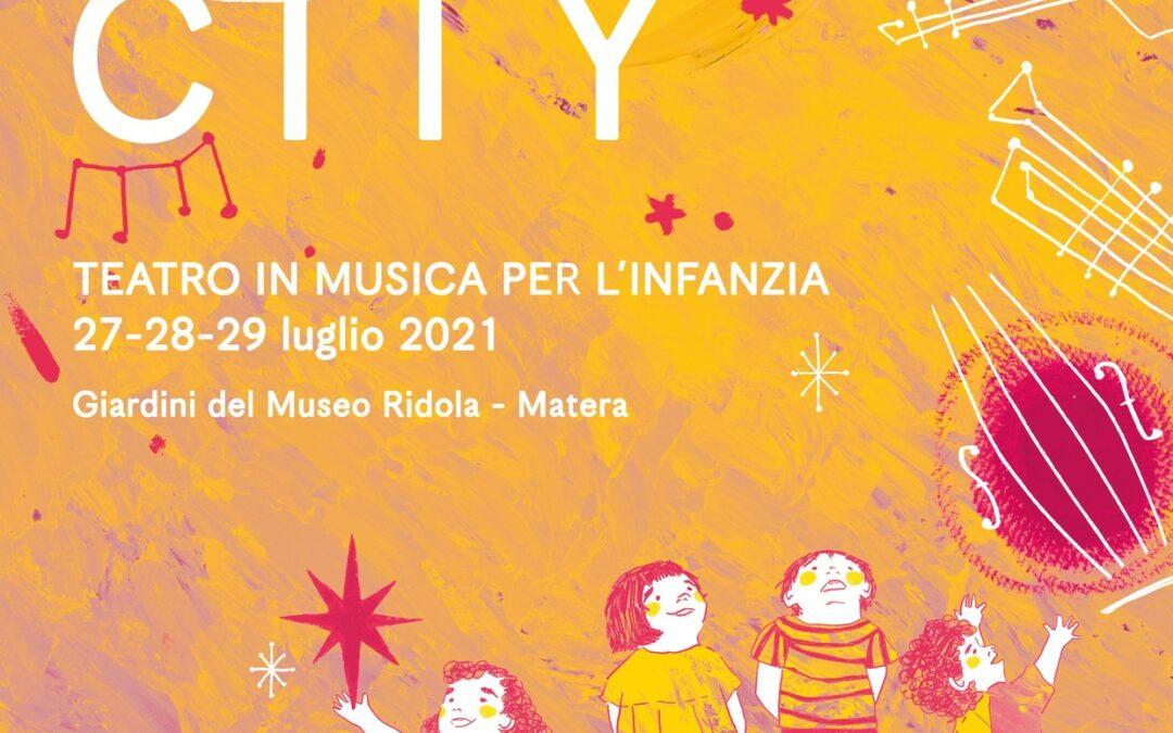 Silent City Festival, teatro in musica per l'infanzia nei Giardini del Museo Ridola