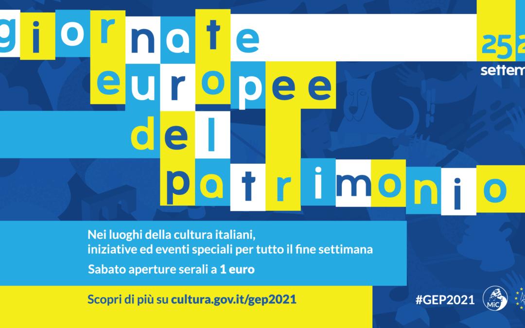 Giornate Europee del Patrimonio 2021 a Matera