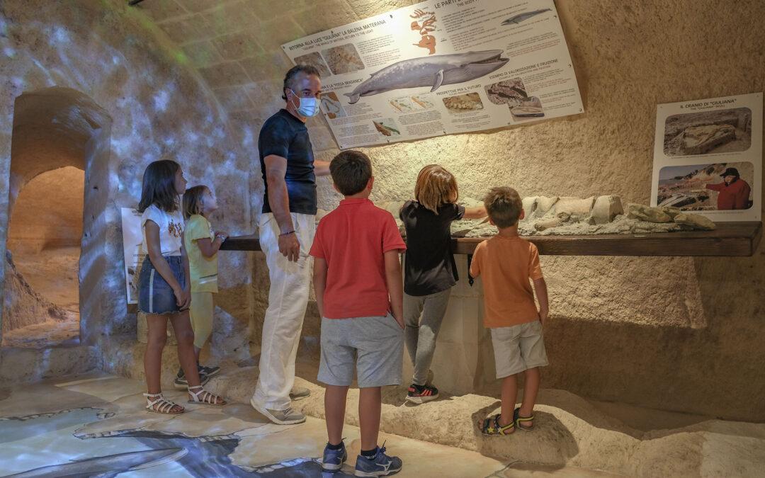 Racconti In Pietra - Visita di un gruppo di bambini al museo