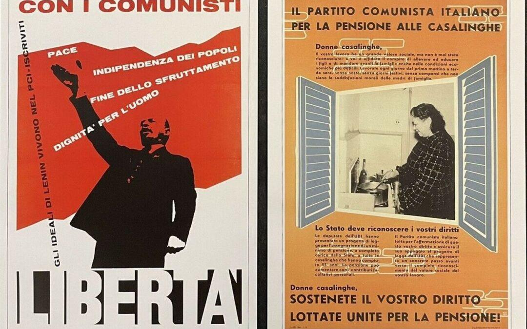 40 manifesti storici del P.C.I. in mostra al Museo del Comunismo di Matera
