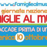Giornata delle Famiglie al Museo 2021 a Matera - Iniziative in programma