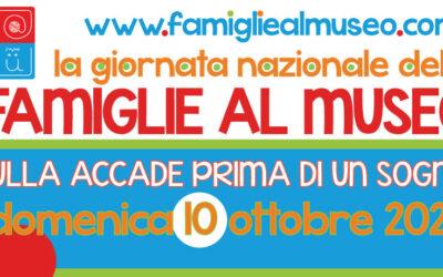 Giornata delle Famiglie al Museo 2021 a Matera – Iniziative in programma
