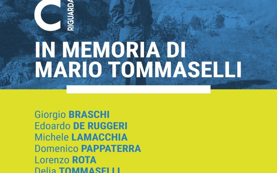 """""""In Memoria di Mario Tommaselli"""" a Palazzo Lanfranchi"""