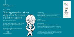 """Presentazione del libro """"Spicilegio storico critico della Città Severiana o Montescaglioso"""" al Museo Ridola"""